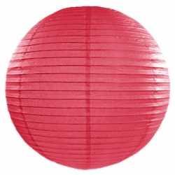 Luxe bol lampion fuchsia roze 50