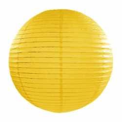 Luxe bol lampion geel 35