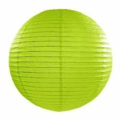 Luxe bol lampion groen 35