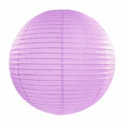 Luxe bol lampion lila 35