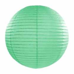 Luxe bol lampion mint groen 35