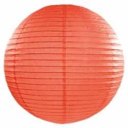 Luxe bol lampion oranje 50