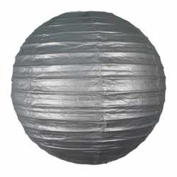 Luxe bol lampion zilver 25