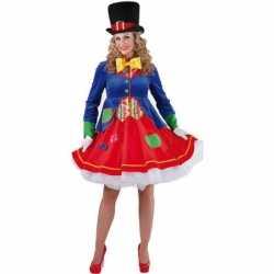 Luxe clowns jurkje Lucky dames