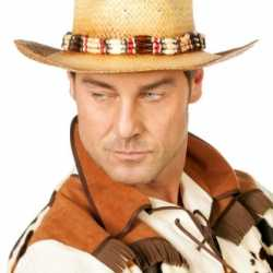 Luxe cowboy hoed kralen