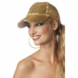Luxe disco pet gouden pailletten
