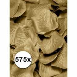 Luxe gouden rozenblaadjes 575 stuks