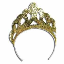 Luxe gouden tiara
