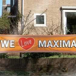 Mega banner We love Maxima