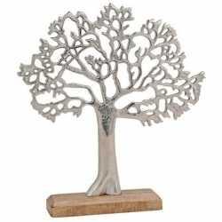 Metalen decoratie boom op standaard 33