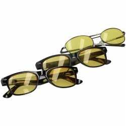 Nachtzichtbril mat zwart volwassenen