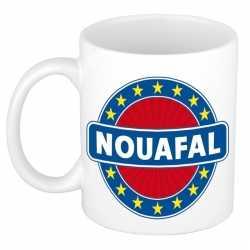 Naoufal naam koffie mok / beker 300 ml