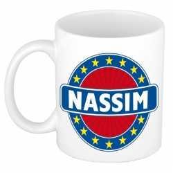 Nassim naam koffie mok / beker 300 ml