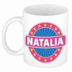 Natalia naam koffie mok / beker 300 ml