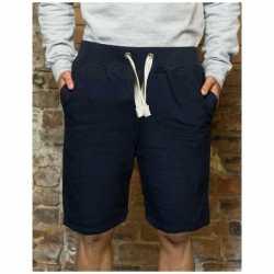 Navy campus shorts heren