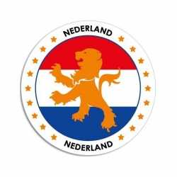 Nederland sticker rond 14,8