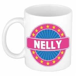 Nelly naam koffie mok / beker 300 ml