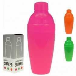 Neon kleurige cocktailshakers 350 ml