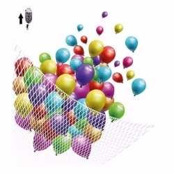 Net helium ballonnen 200 stuks
