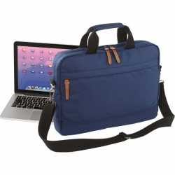 Nette laptoptas navy