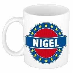 Nigel naam koffie mok / beker 300 ml