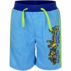 Ninja turtles korte broek blauw jongens