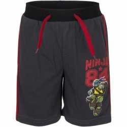 Ninja turtles korte broek zwart jongens