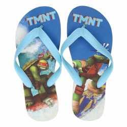Ninja turtles teenslippers blauw jongens
