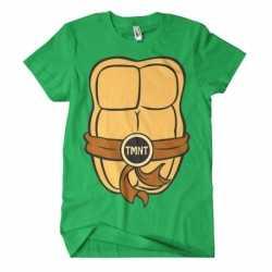 Ninja turtles verkleed t shirt heren