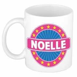 Noelle naam koffie mok / beker 300 ml