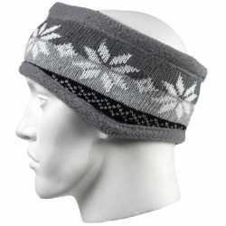 Nordic hoofdband grijs