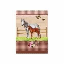 Notitieboekje a7 paarden bruin