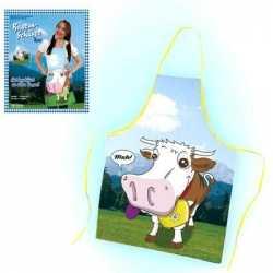Oktoberfest Beieren keukenschort koe