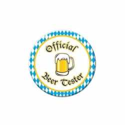 Oktoberfest button Beer Tester