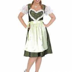 Oktoberfest Groene Tiroler jurk hart