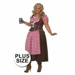 Oktoberfest Lange Dirndl jurk