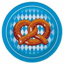 Oktoberfest pretzel borden 8 stuks