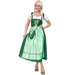 Oktoberfest Schots geruit jurkje groen