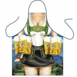 Oktoberfest Sexy schort Tiroler dame bierpullen