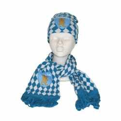 Oktoberfest sjaal muts