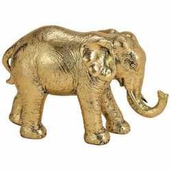 Olifant dieren beeldje goud 18 woondecoratie