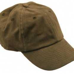 Olijf kleurige baseballcap