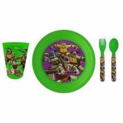 Ontbijtsetje turtles 3d bord