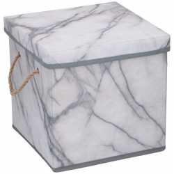 Opberg box / opberg doos marmer 23 12 liter