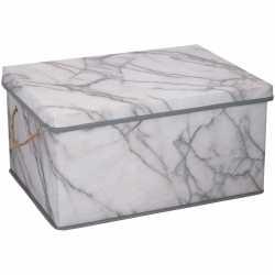Opberg box / opberg doos marmer 40 25 liter