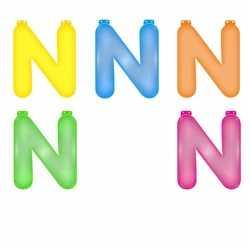 Opblaas letter N