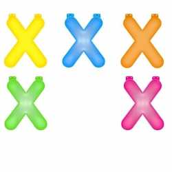 Opblaas letter X