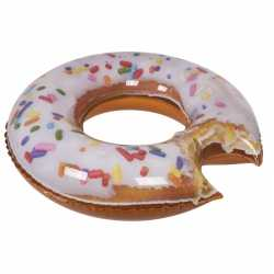 Opblaasbaar donut zwemband/zwemring 100