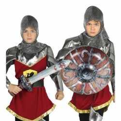 Opblaasbaar ridder zwaard schild volwassenen