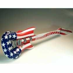 Opblaasbare gitaar USA